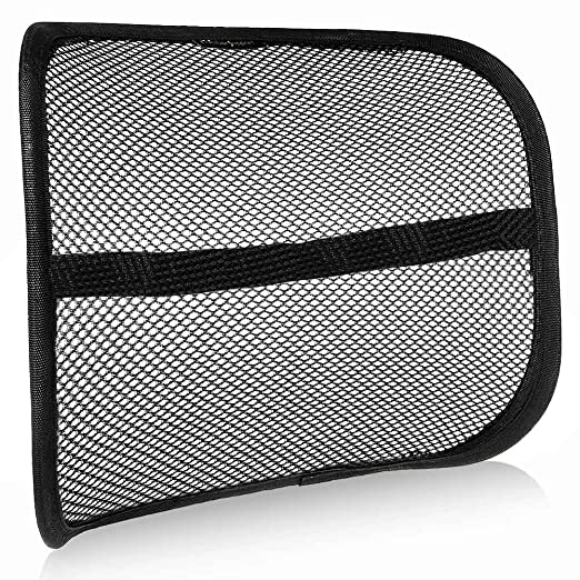 Go Lumbar Support for Car | Super Soft Comfortable Easy Posture Solution for Back Pain n Poor Posture | Properly Aligns Spine to Ease Lower Back Pain | Cool Breathable Mesh Mostly Fit Any Cars | 533.4