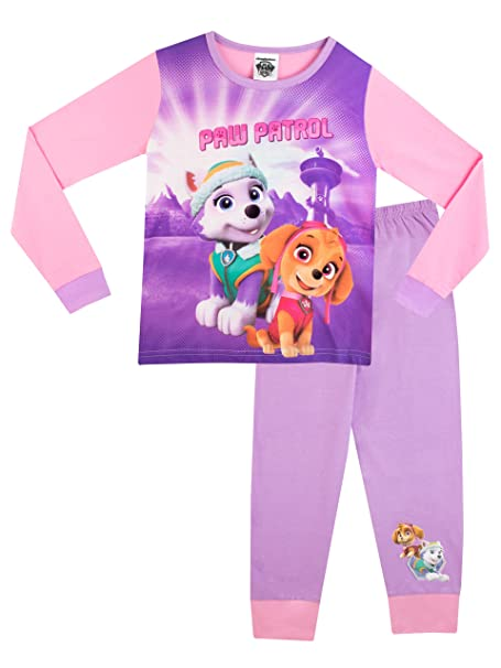 La Patrulla Canina - Pijama para niñas - Paw Patrol - 18 - 24 Meses