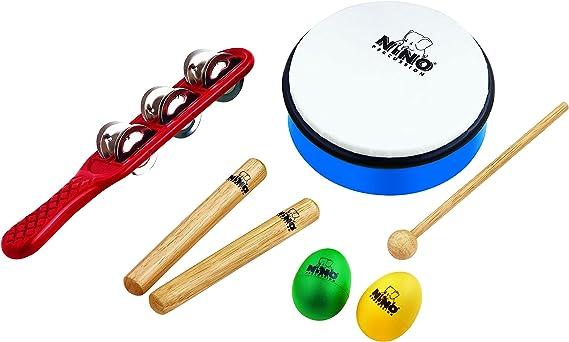 Nino Percussion Ninoset3 - Pack de instrumentos de percusión ...