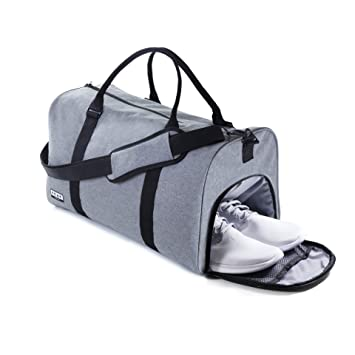f02ae58ffc Amazon.com  The Weekender Duffel Bag - Travel Bag Duffle Bag - Lifetime  Lost   Found ID  Peak Gear