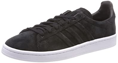 buy popular 71cb9 af0ee adidas Originals Mens Campus Stitch and Turn, Cblack, Ftwwht Sneakers-10  UK