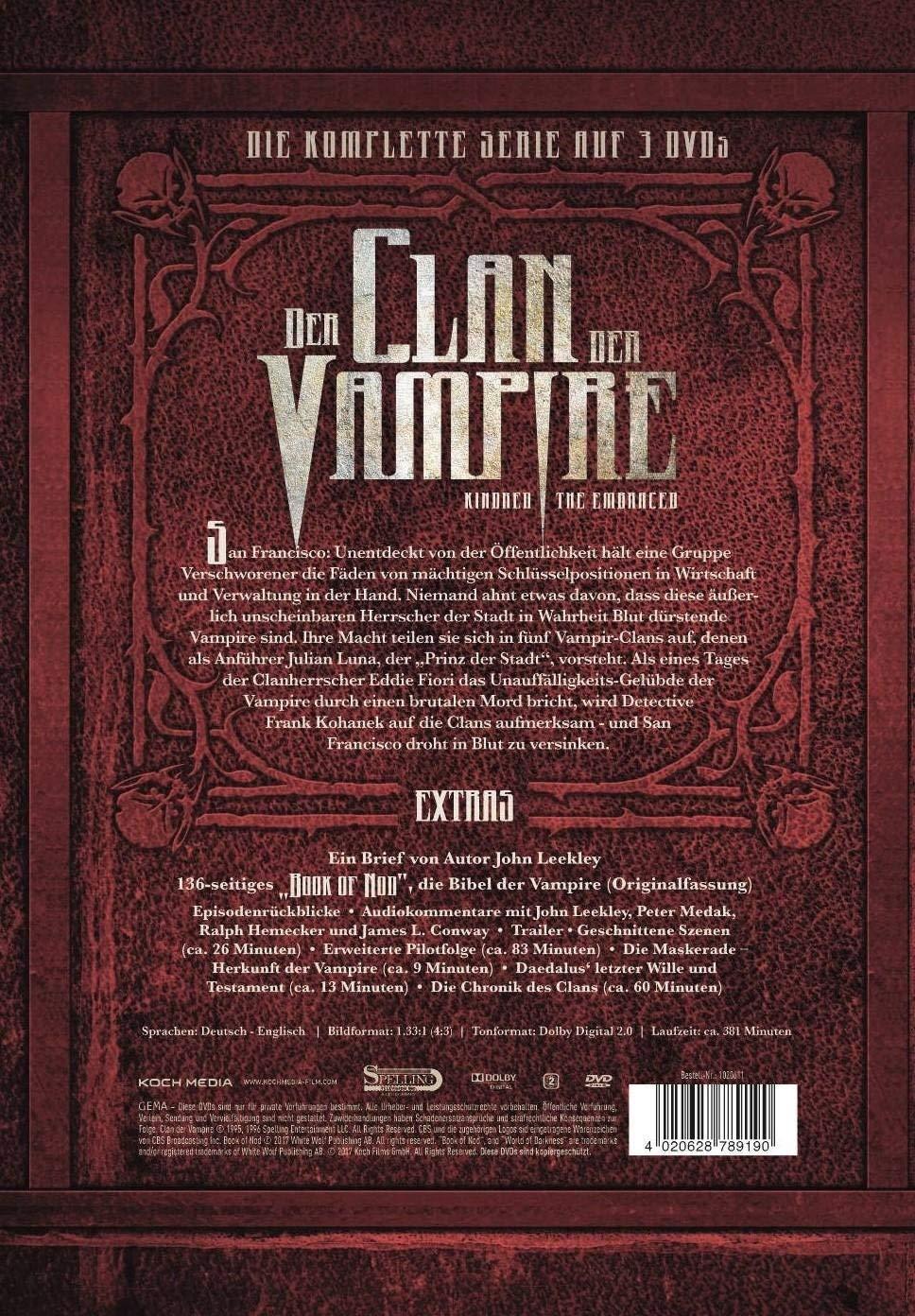 Der Clan Der Vampire Die Komplette Serie Special Edition 3