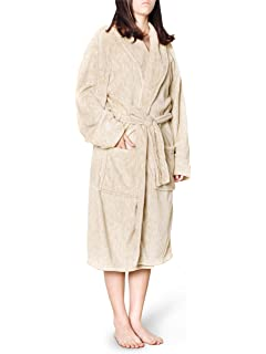 6ae05993a1 Amazon.com  TIMSOPHIA Womens Plush Fleece Robe