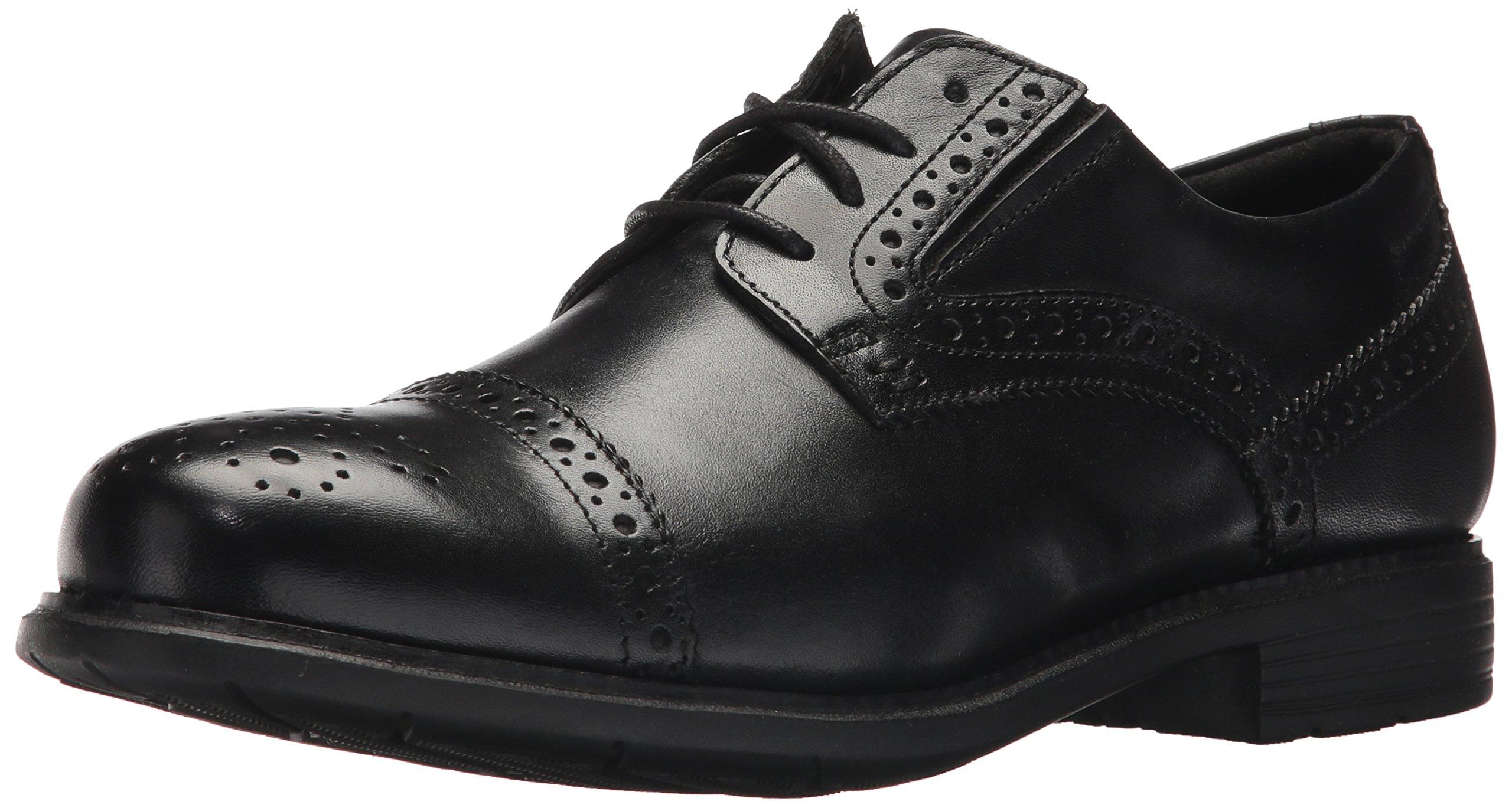 Rockport Men's Total Motion Dress Cap Toe Shoe, Black, 7.5 M US
