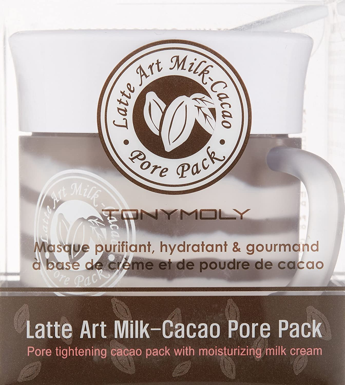 Tony Moly - Latte Art Milk Cacao Pore Care Pack, Mascarilla Para Poros, 85 gr: Amazon.es: Belleza