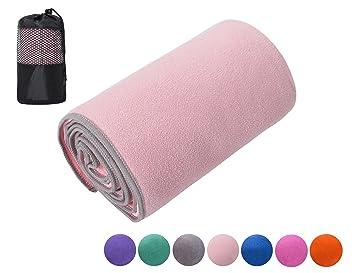 ChinFun microfibra antideslizante Yoga Mat Toalla para ...