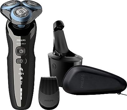 Philips Afeitadora eléctrica S6000 Wet&Dry con cuchillas ...