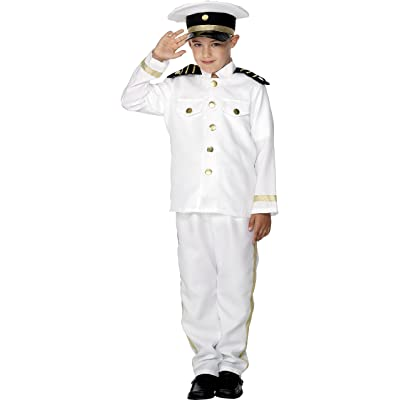Smiffys Captain Costume, Child: Clothing