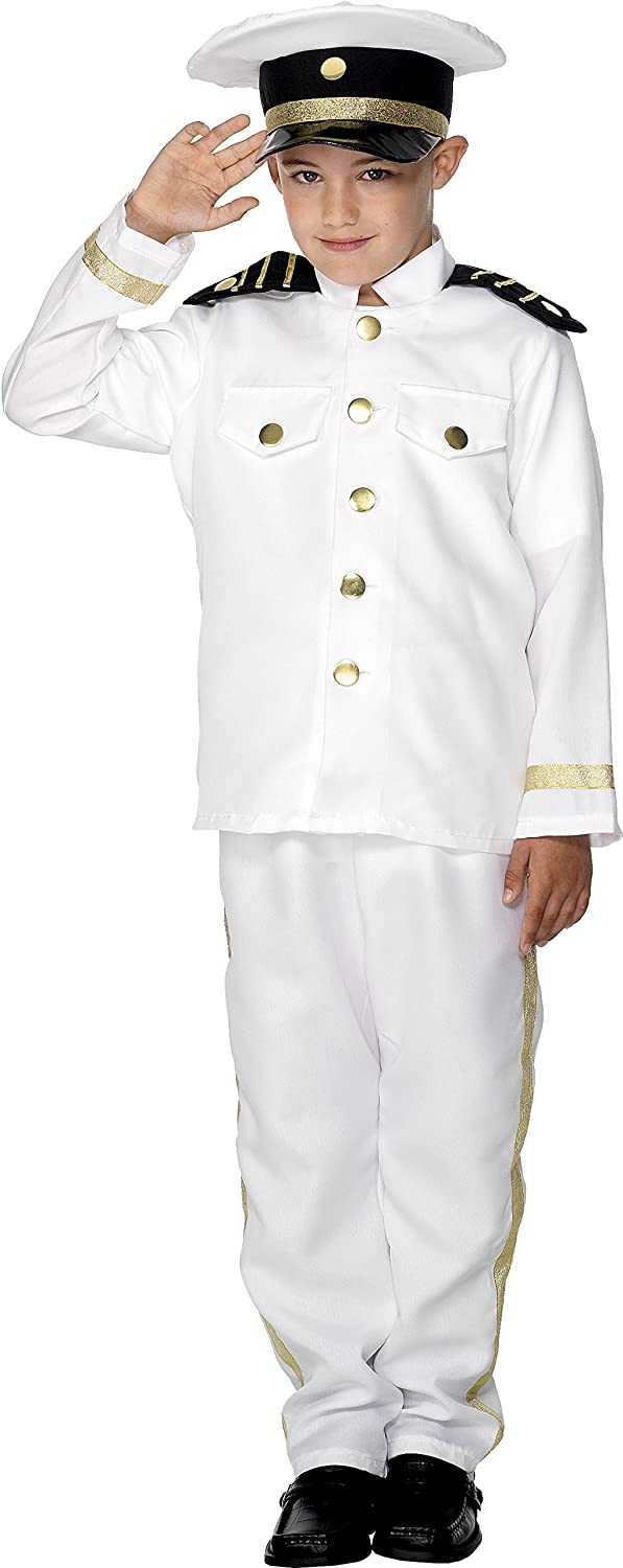 Captain Fancy Dress Costume Boys (Sailor)