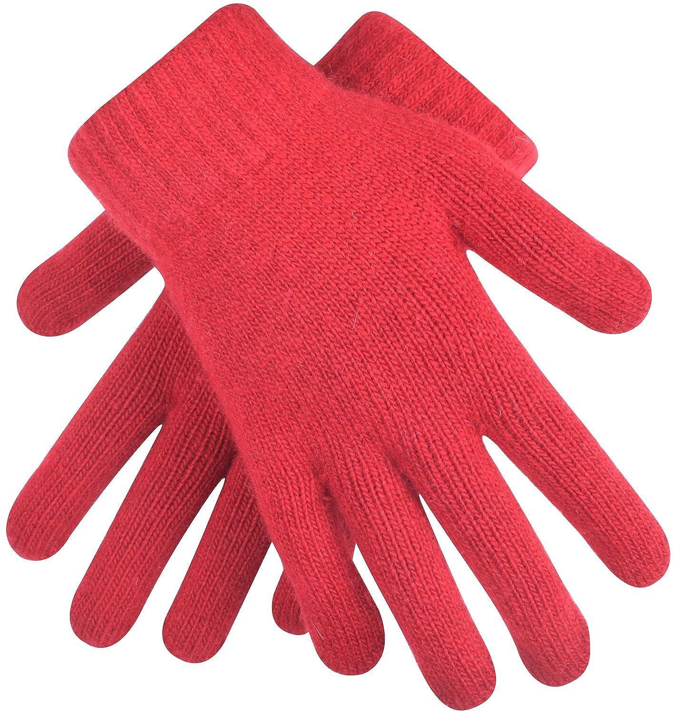 ORSKY Women's Winter Gloves Cashmere Stretch Knit Black One Size KPDJAYSA33698
