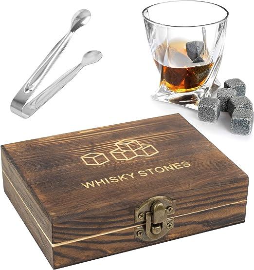 Compra TRIXES Whisky Stones Gift Set - 9PC Whiskey Stones en una ...