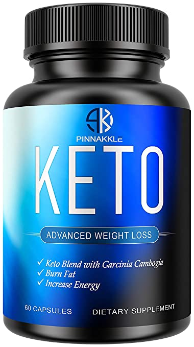 Amazon.com: Keto Diet Pills by Pinnakkle | Advanced Keto Weight Loss Supplement | Ketogenic Fat Burner | Burn Fat Instead of Carbs | Ketosis Supplement ...