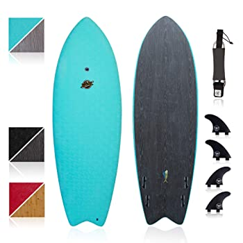 South Bay Board Co. Mahi Hybrid 6' Shortboard Surfboard