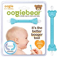 oogiebear - The Safe Baby Nasal Booger and Ear Cleaner - Baby Shower Registry Essential...