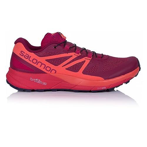 billig Salomon Sense Ride Trail Running Shoe Women's Sangria
