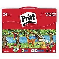 Pritt 24'lü Pastel Boya - Çantalı