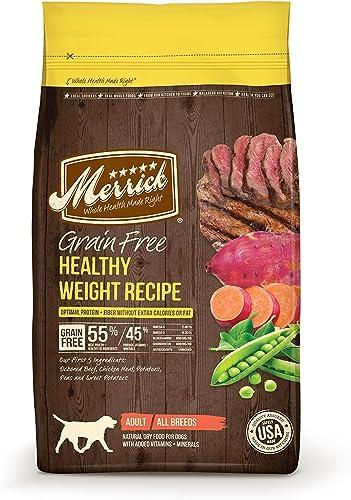 Merrick Grain Free Healthy Weight Recipe 4-Pound 2-Pack