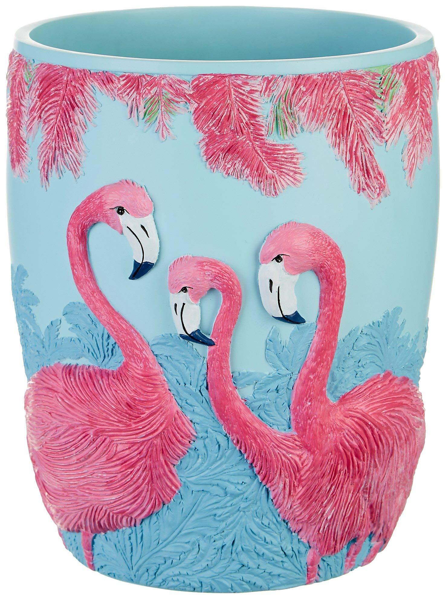 Leoma Lovegrove Pink Power Wastebasket One Size Pink/Blue