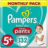 Pampers Baby-Dry - Pantalones para bebé (talla 5+