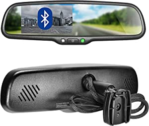 Master Tailgaters OEM Bluetooth Rear View Mirror with 4.3