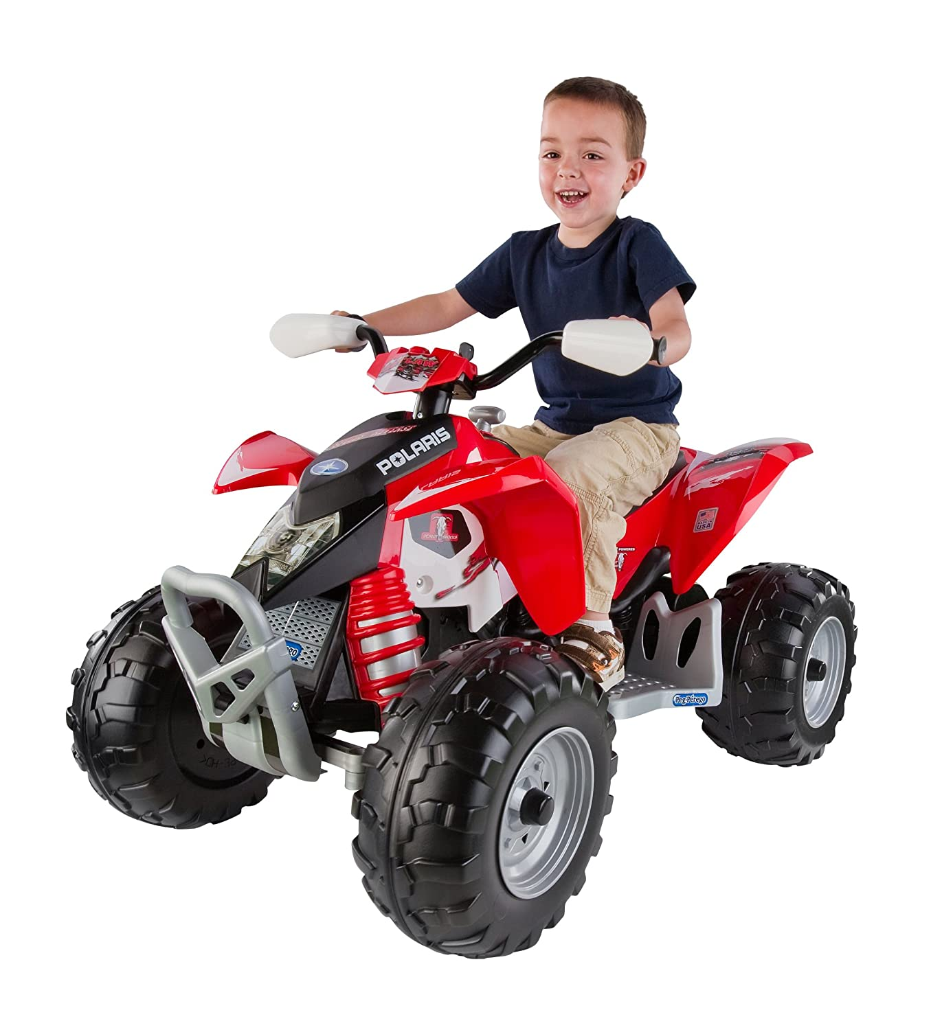 Amazon Peg Perego Polaris Outlaw Red Toys & Games