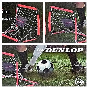 b6f3feffeed8 2 x Dunlop Football Goal Soccer Goals Torset Set Children's 78 x 56 x 45  cm: Amazon.co.uk: Sports & Outdoors