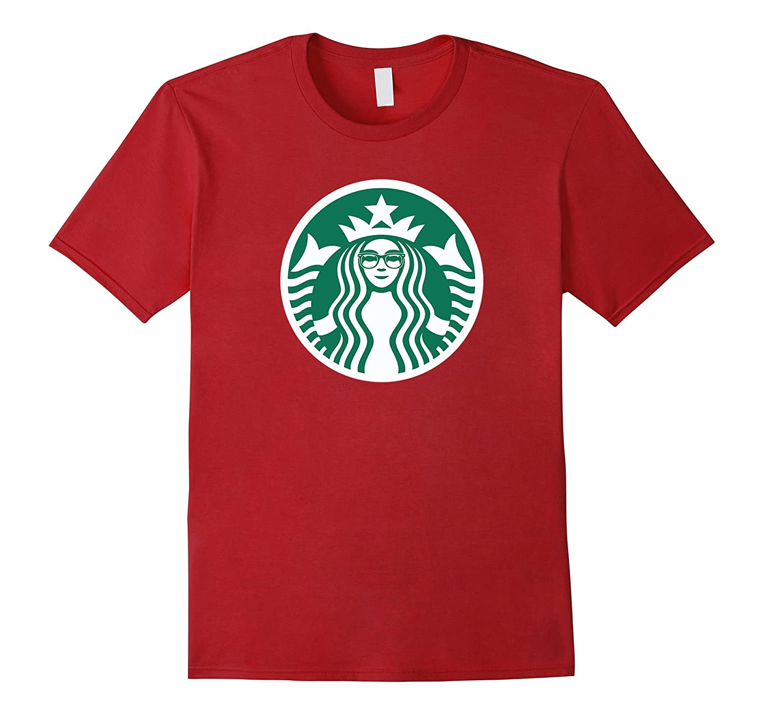 Funny Parody Coffee Lover Hipster Christmas Holiday T-Shirt-CL