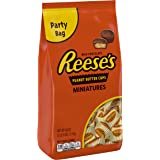 REESE'S Peanut Butter Cups, Chocolate Candy, Miniatures, 40 Ounce Bulk Candy