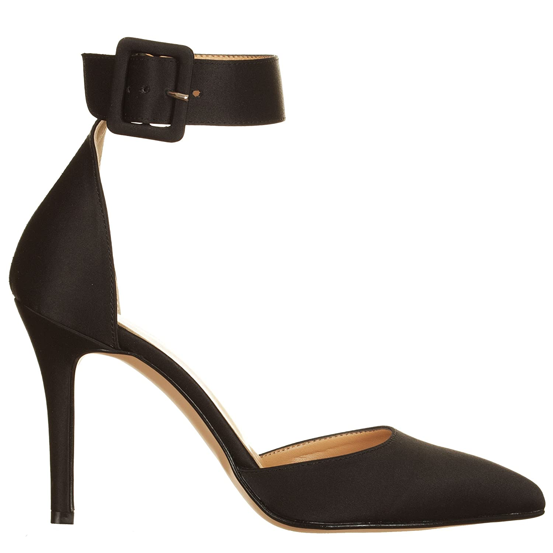 Zapatos 39 Para Vialescarpe Vestir De Negro Mujer Satén awaAdzqF
