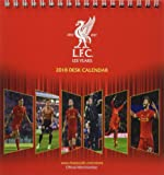 Liverpool F.C Official Desk Easel 2018 Calendar - Month To View Desk Format (Desk Easel Calendar 2018)