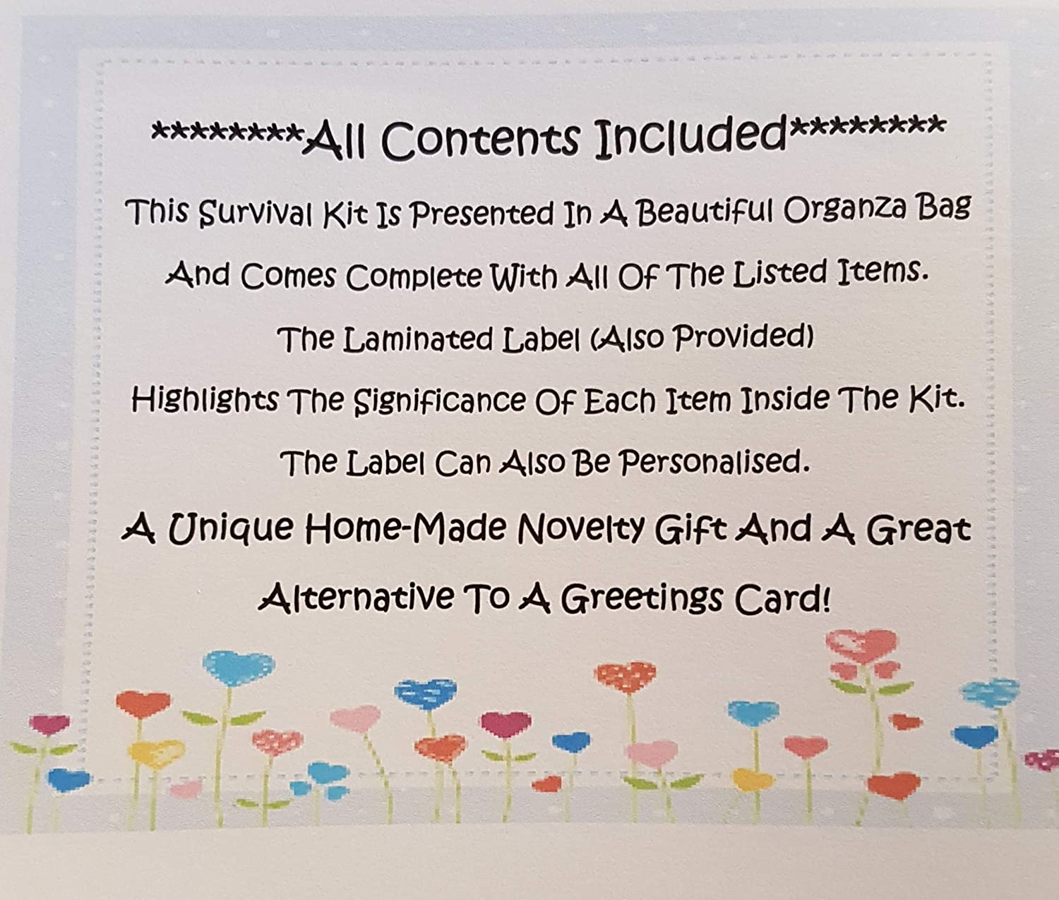 Dads Survival Kit NEW The Perfect Greetings Card Alternative!