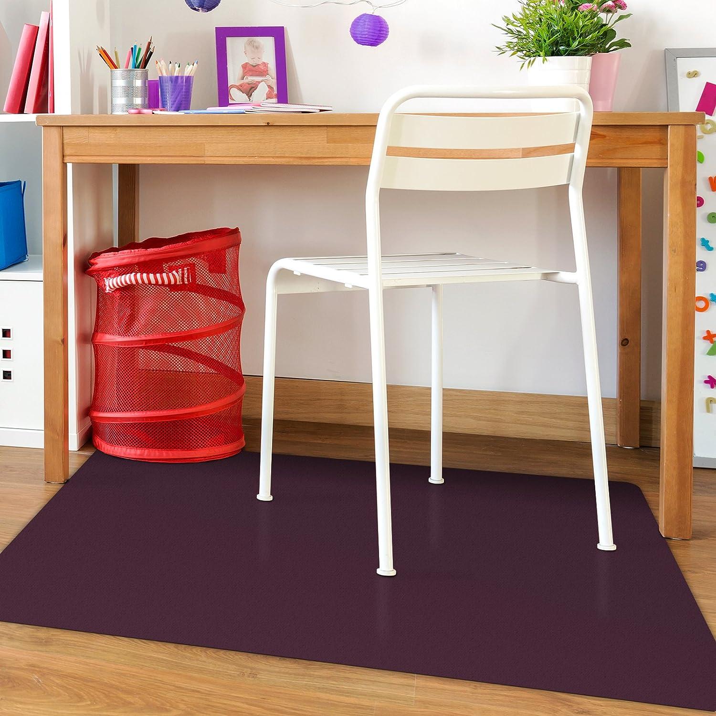 Pet Feeding Mat or Fitness Mat Dark Blue etm Floor Protector Mat Huge Variety Opaque Multipurpose 120x150cm Chair Mat Black Colour 4x5 Polypropylene Office Mat for Hard Floors