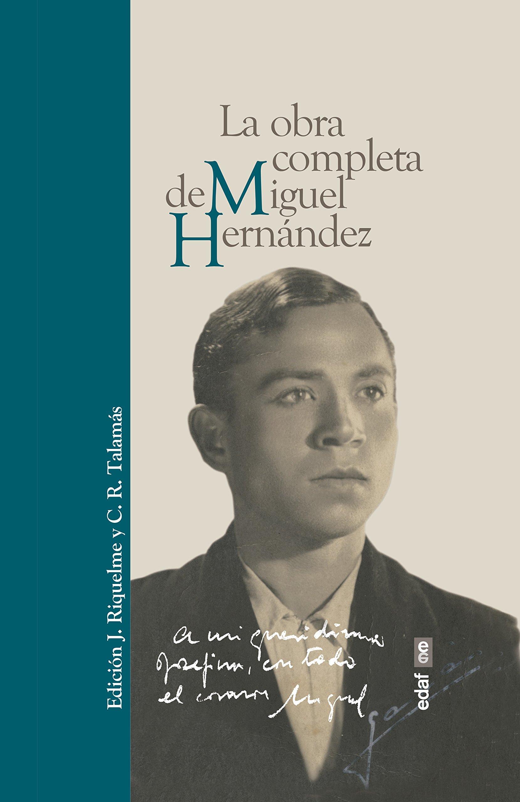 La obra completa de Miguel Hernandez (Spanish Edition) ebook
