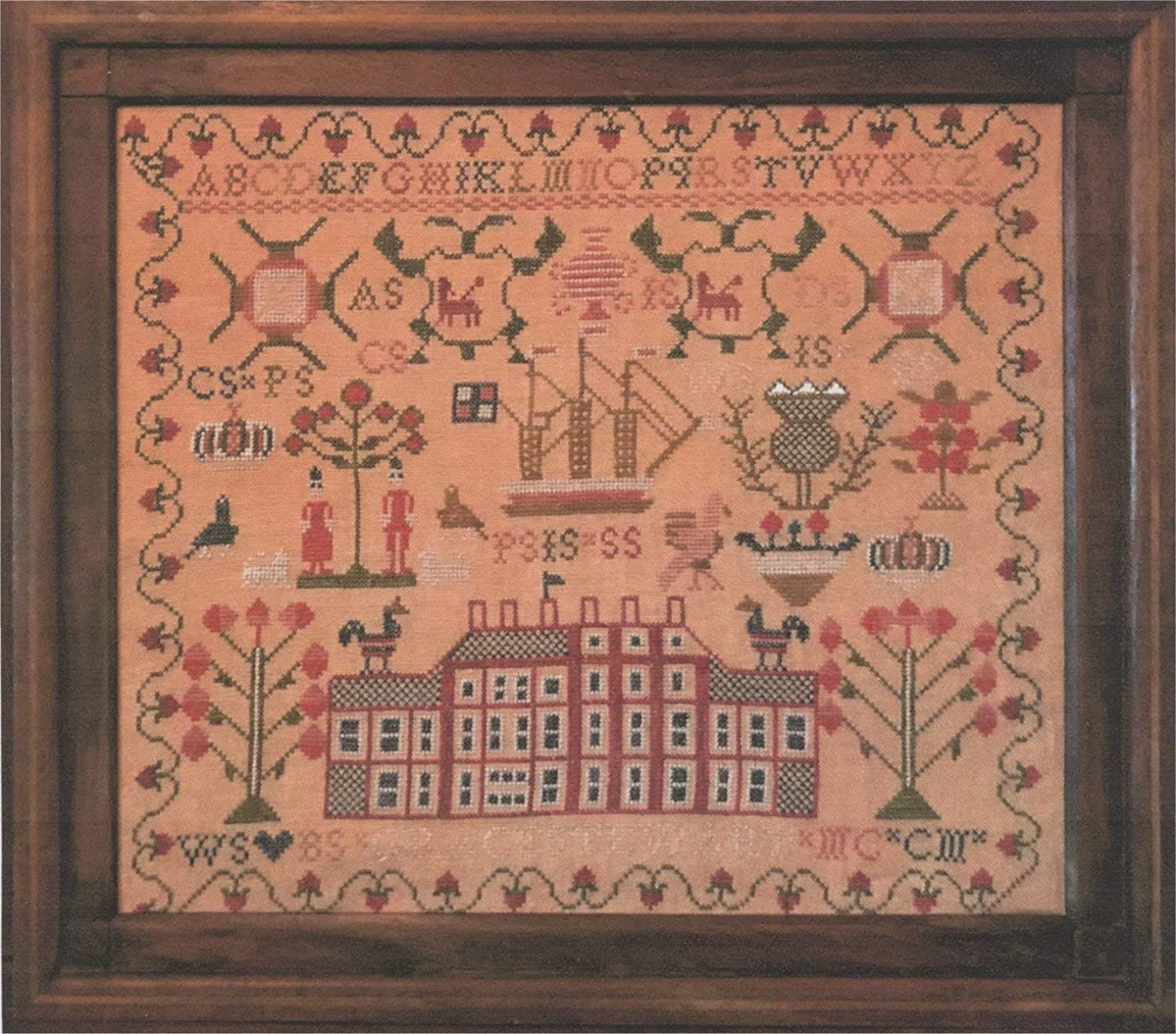 Grace Steward A Scottish Sampler Reproduction Chart by Merry Wind Farm