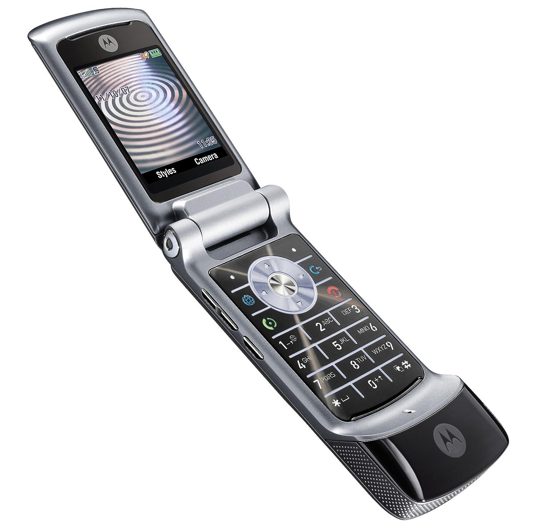 Amazon.com: Motorola KRZR K1 Unlocked Phone with 2 MP Camera, MP3/Video  Player, and MicroSD Slot-International Version with Warranty (Black): Cell  Phones & ...