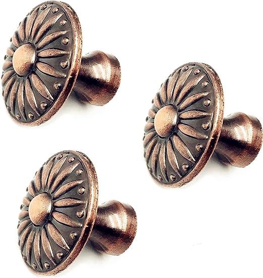 12 tiradores de anillo de aleaci/ón de zinc modernos un solo agujero para tiradores de cajones pomos de tocador