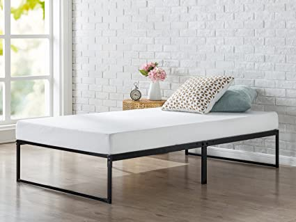 Amazon.com: Zinus 12 Inch Platforma Bed Frame, Mattress Foundation ...