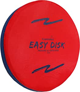 Easy Disk Toy and Game - Soft Catch - Flying Disk - Indoors or Outdoor for Kids, Beginners or Advanced Players, Adults & Families