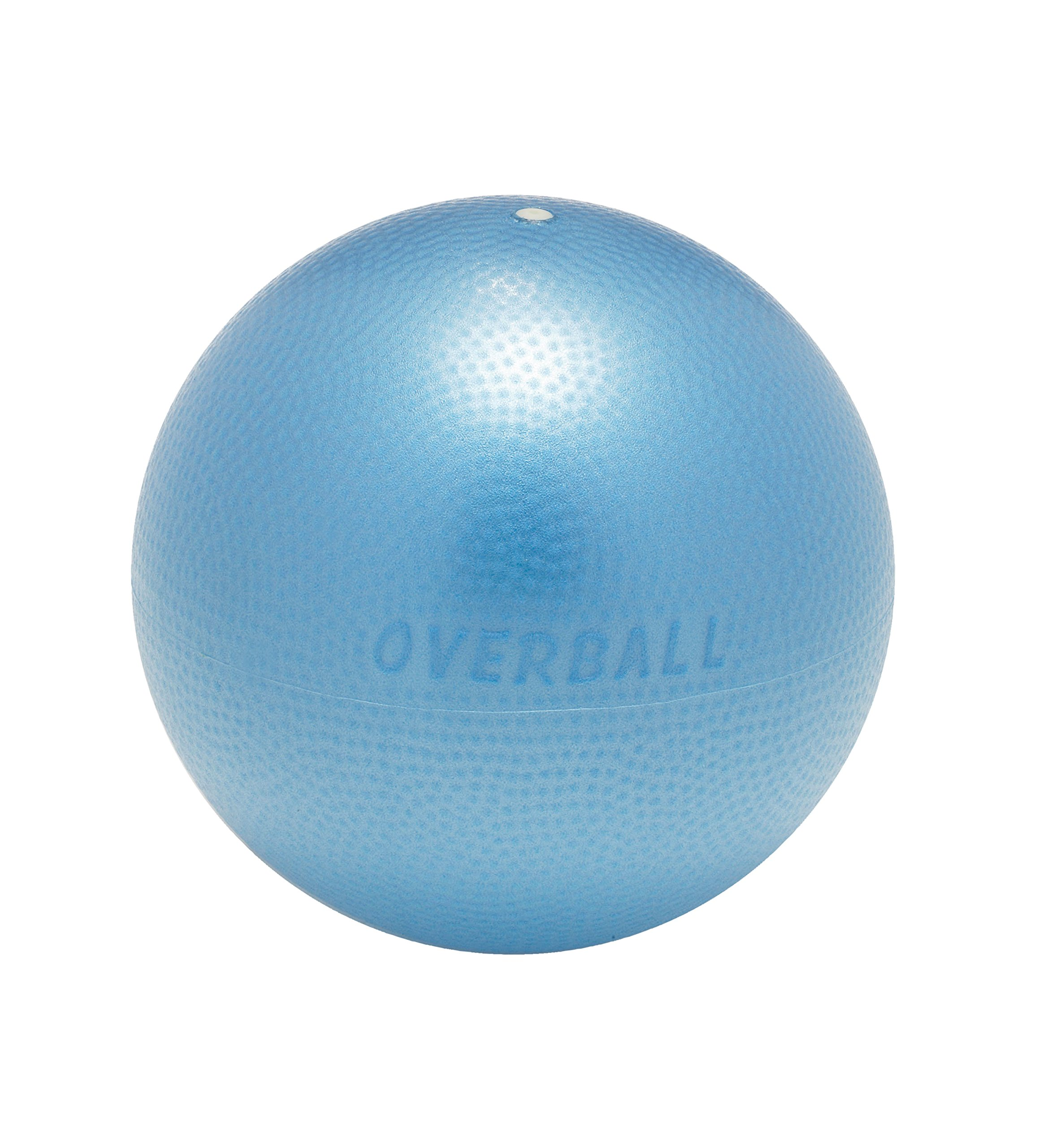 Gymnic 8011BLUE Over Ball-9'', Blue, 9''