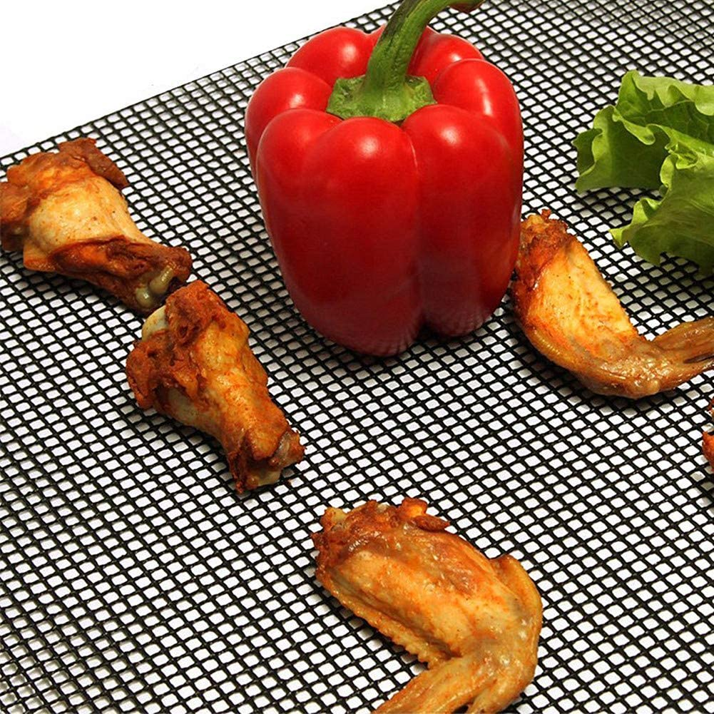 XD E-commerce Grille De Barbecue Grille Barbecue Ronde Barbecue Grill Tapis BBQ Grill Mat Barbecue Grillades Non Bâton Barbecue Grill Tapis A,L A