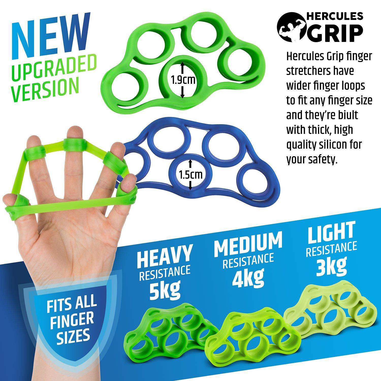Kit de Entrenamiento para fortalecer la mano | Varias Resistencias (3-28kg) Silicona - 6 Piezas: Amazon.es: Deportes y aire libre