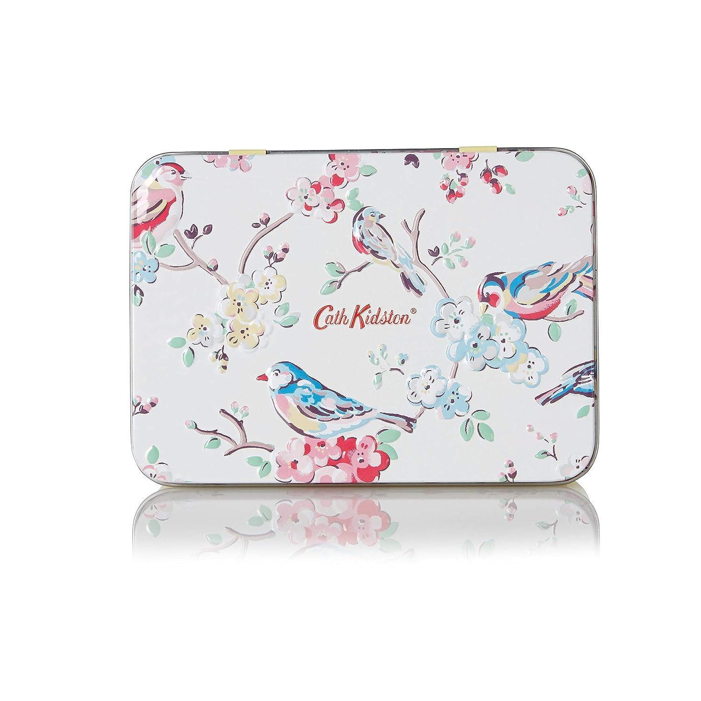 Cath Kidston Blossom Birds Apple Blossom and Elderflower Hand and Lip Care Tin Heathcote & Ivory FG5421