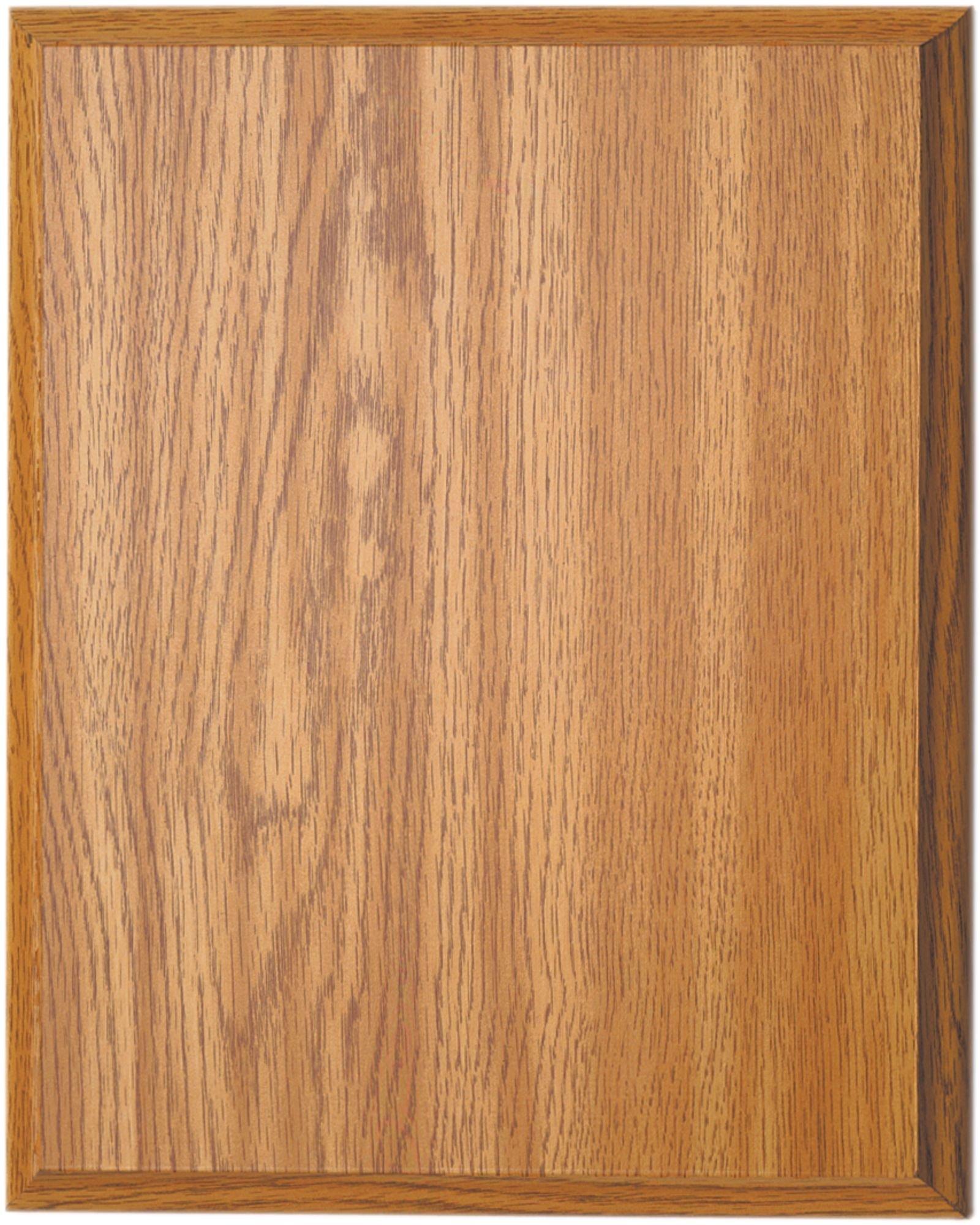 Ridgecrest Oak Finish Composite Wood Plaque, 6 by