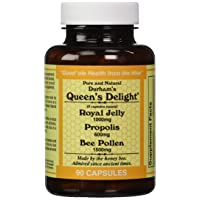 Durhams Queens Delight (Royal Jelly 1000mg, Propolis 600mg, Beepollen 1500mg) in...