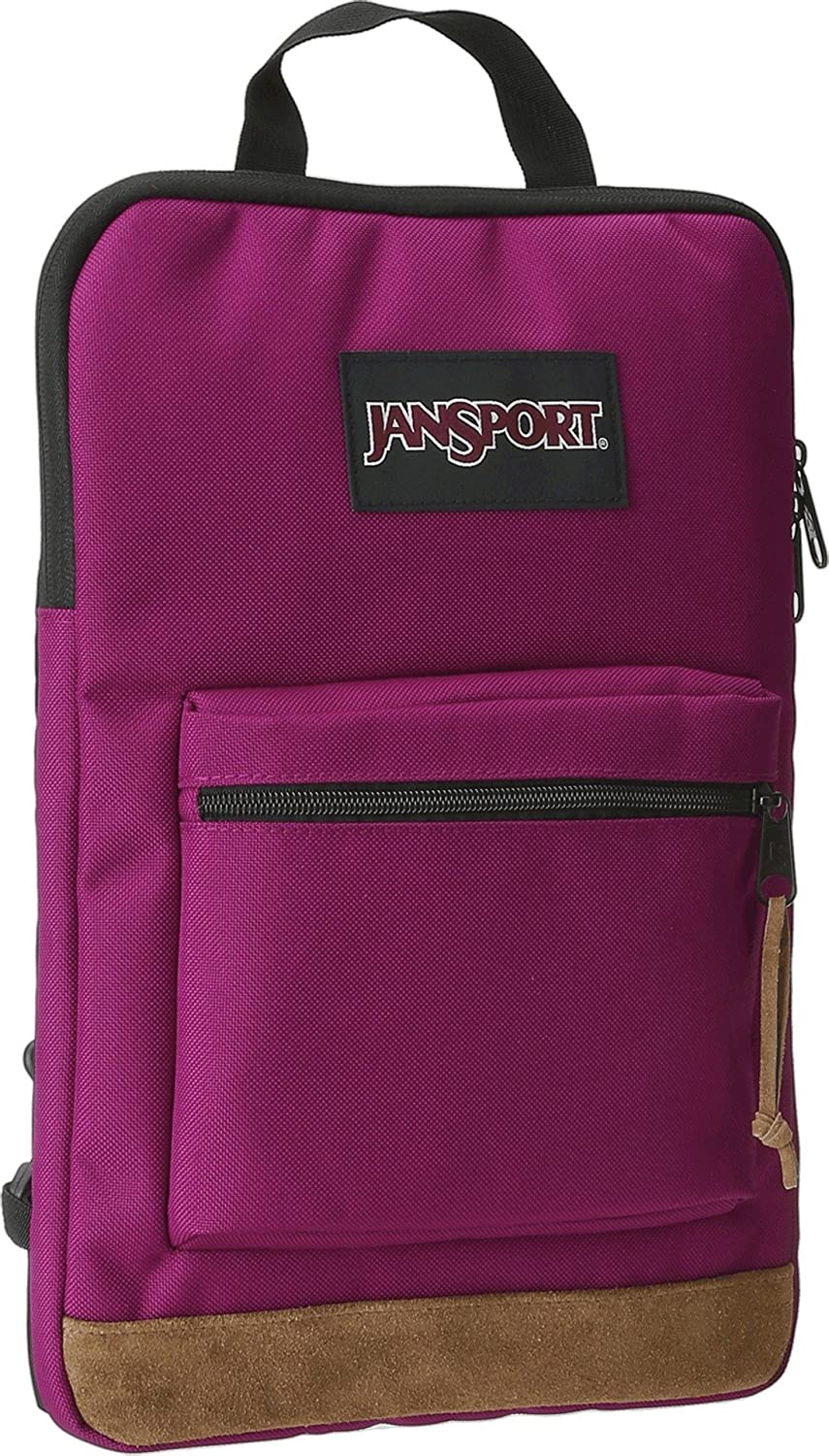 JanSport Right Pack Sleeve Backpack Berrylicious Purple One Size