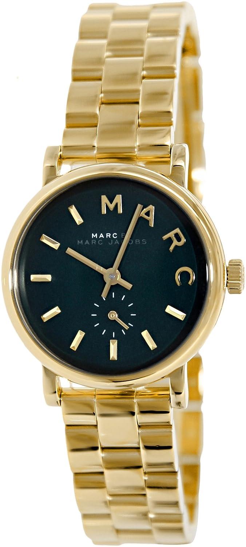 MARC by MARC JACOBS Uhr Damenuhr Armbanduhr Edelstahl-Gold MBM3249 NEU