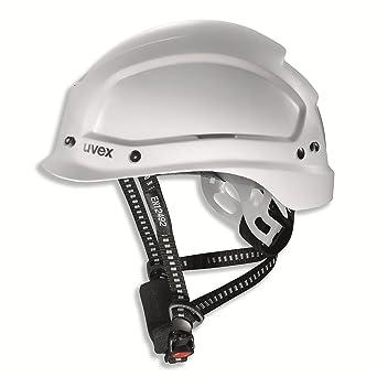Uvex Pheos Alpine 9773 Casco de Seguridad - Casco de Protección Para Obra EN 397 EN 12492, Blanco