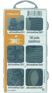 Comap - Juego de 100 juntas de goma para sanitarios