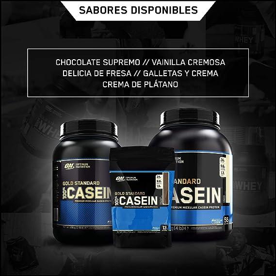 Optimum Nutrition 100% Gold Standard Casein, Proteínas en ...
