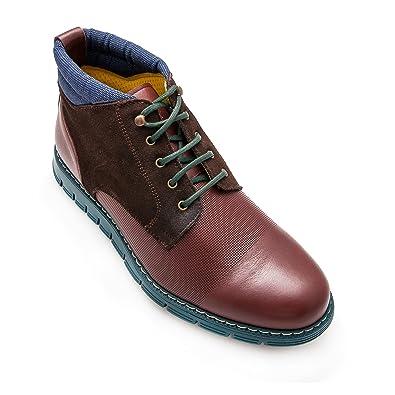 Zerimar Lederstiefel Stiefel für Herren Stiefel Elegant Herren LederStiefel  Casual echter Leder Stiefel für Mann Farbe 477505652e